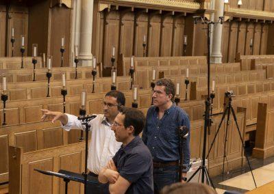 Canticum preparing for recording